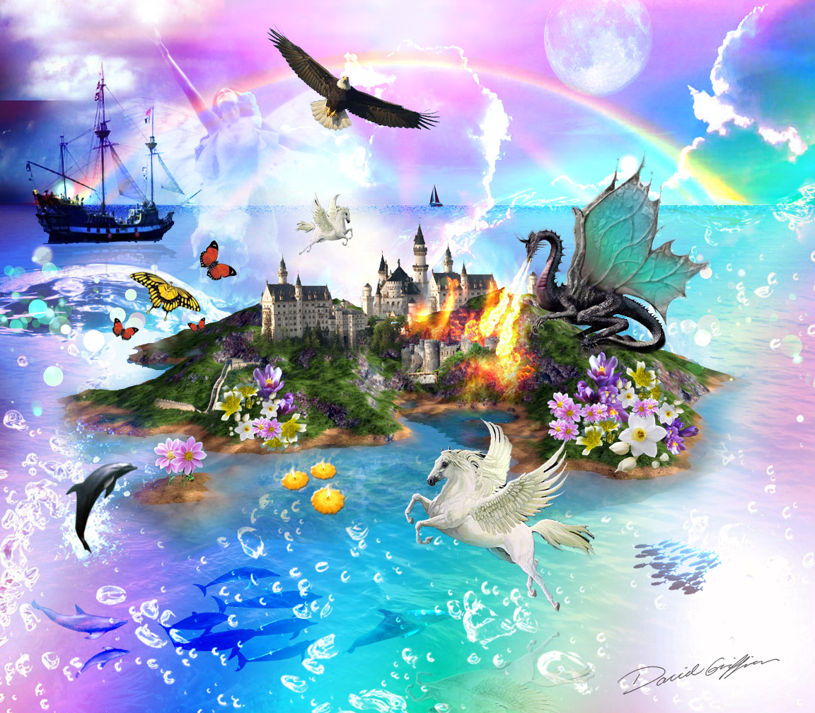 Fantasy Island Collage Create The Effect